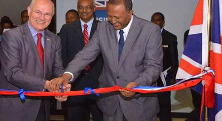 President Inaugurates Ahadukes Food Products Factory